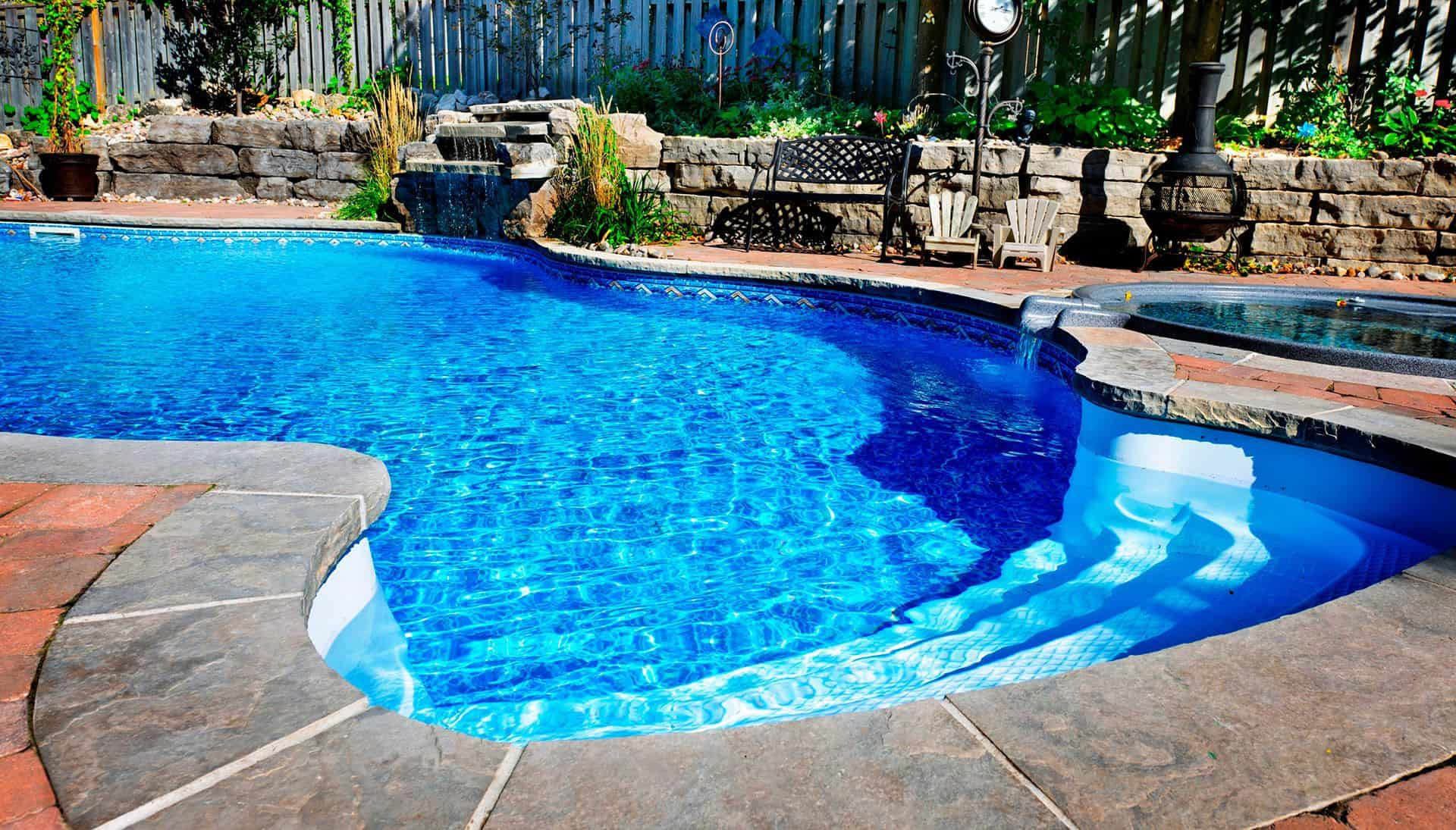 Well maintained pool after pool repair service